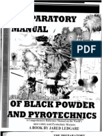 Preparatory Manual of Black Powder and Pyrotechnics