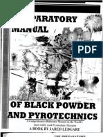 Preparatory Manual of Black Powder and Pyrotechnics