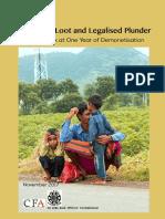 Organised Loot and Legalised Plunder