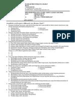 Format Soal PAS MPBJ Ganjil 2017 2018