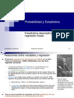 1raEstadística Inferencial Bivariante y Regresión Lineal