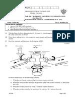 PLC exam paper mit manipal