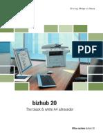 Bizhub 20 Broshure