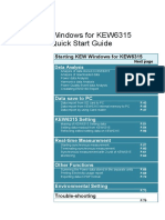 Kew Windows for Kew6315 Manual
