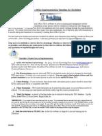 World Span Implementation Checklist