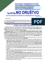 """Bilten """"Civilno društvo"""" UG """"Evropski pokret u Smederevskoj Palanci"""", br. 3, jun 2003"""