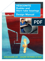 Vesconite Marine Bearing Design Manual