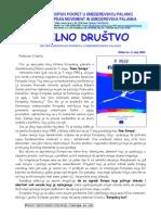 """Bilten """"Civilno društvo"""" UG """"Evropski pokret u Smederevskoj Palanci"""", br. 2, maj2003"""