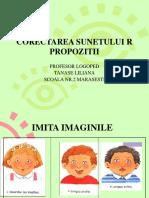 CORECTAREA-SUNETULUI-R1.ppt