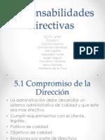 Responsabilidades Directivas