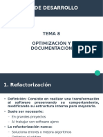 Tema 8. Optimización y Documentación