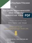 Perubahan Paradigma Pelayanan Dan Quality Improvement Dala