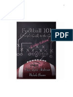 Football 101_ a Simple Guide to - Erica Lynn Anderson