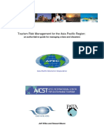 Tourism Risk Management for the Asia Pacific Region