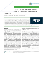 Drug Discovery From Chinese Medicine Against Neurodegeneration In