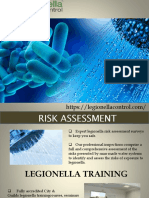Legionella Control | Testing, Assessment & Training
