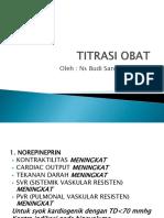 TITRASI OBAT