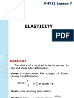 PHY11 Lesson 7 Elasticity.pptx