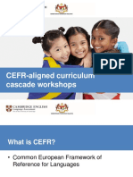 Cefr Workshop