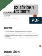 Engranes Cónicos y Tornillos Sinfín