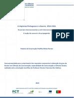 A imprensa portuguesa e a guerra 1914-1918