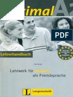 Optimal A2 Lehrerhandbuch