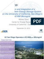 Design and Integration of a 2.5 MW / 5 Mwhr Energy Storage System on the University of California, San Diego's 42 MW Microgri