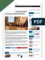 """Ambiente, Premio """"Contratti di Fiume"""" a ricercatrice Università di Urbino - Il Ducato del 7 febbraio 2018"""