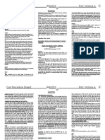 Civil Procedure Digest