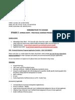 Express Entry & PNP Application Checklist