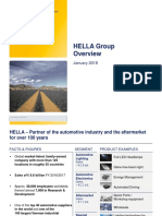 HELLA Group Overview