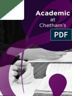 Academic at Chetham's