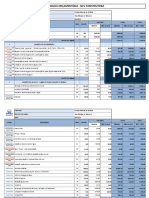 Planilha Orçamentária - Medição Obra Reforma Da Cobertura