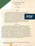 Model Building Techniques for Mineral Treatment Processes, Whiten W. J.