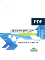 MAN0396-1.0 Sample Dispersion & Refractive Index