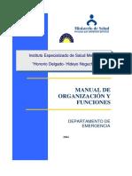 EJEMPLO MANUAL DE ORGANIZACION Y FUNCIONES