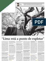 Entrevista a Miguel Cruchaga Belaude, Decano de la Facultad de Arquitectura de la UPC.