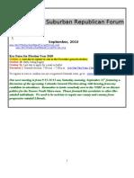 NSRF September 2010 Newsletter
