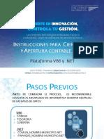 Instrucciones Cierre Apertura Contable VB6 Nuevo2017-2018