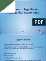 Ghid pentru legalitatea organizațiilor studențești.ppt