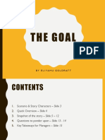 The Goal-Book Review