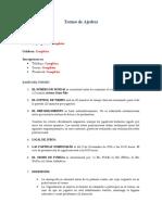 Presupuesto Torneo de Ajedrez (bases)