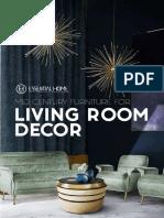 Mid Century Living Room Trends