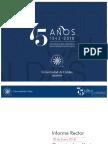 Informe Rector al Consejo Académico – 30 Enero 2018