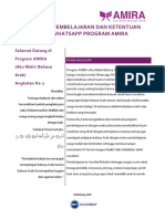 Petunjuk Pembelajaran Dan Ketentuan Grup Whatsapp Program Amira-2