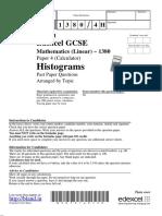 Histograms (1)