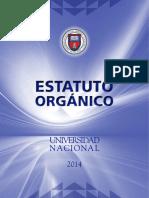 Estatuto orgánico UNA