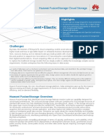 Huawei FusionStorage Data Sheet
