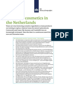 Waxes for Cosmetics in the Netherlands