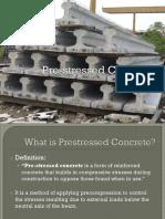 PrestressedConcrete ppt